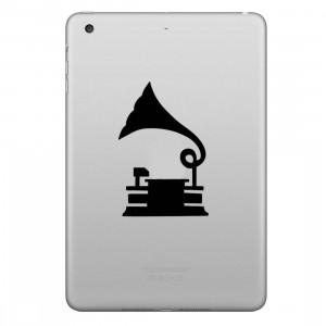 ENKAY Hat-Prince Record Lecteur Motif Amovible Peau Décorative pour iPad mini / 2/3/4 SE100F1325-20