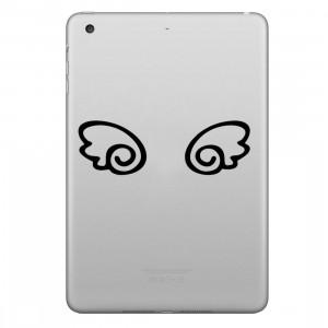 ENKAY Chapeau-Prince Wings Motif Amovible Peau Décorative Autocollant pour iPad mini / 2/3/4 SE100G1051-20