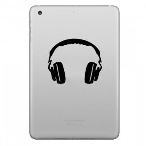 ENKAY Hat-Prince Symétrique Écouteur Motif Amovible Peau Décorative Autocollant pour iPad mini / 2/3/4 SE100P1545-20