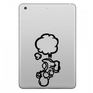 ENKAY Chapeau-Prince Farting Motif Amovible Peau Décorative Autocollant pour iPad mini / 2/3/4 SE100Q1005-20