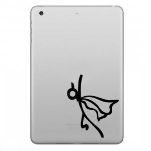 ENKAY Chapeau-Prince tenant l'autocollant de peau décorative démontable de modèle de vol d'Apple pour l'iPad mini / 2/3/4 SE200D1680-20