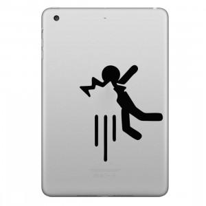 ENKAY Chapeau-Prince Apple a frappé l'autocollant de peau décorative amovible de modèle de personne pour l'iPad mini / 2/3/4 SE200E359-20