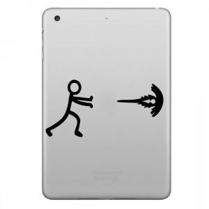 ENKAY Hat-Prince Respiration Exercices Personne Motif Amovible Peau Décorative Autocollant pour iPad mini / 2/3/4 SE200F1065-20