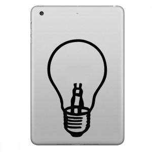 ENKAY Chapeau-Prince Amant Lampe Motif Amovible Peau Décorative Autocollant pour iPad mini / 2/3/4 SE200G1884-20