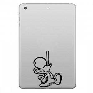 ENKAY Chapeau-Prince Stuck Out l'autocollant de peau décorative amovible motif de langue pour iPad mini / 2/3/4 SE200P1285-20