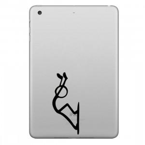 ENKAY Hat-Prince Pousser l'autocollant de peau décorative amovible Apple Pattern pour iPad mini / 2/3/4 SE200Q1528-20