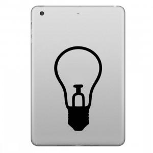 ENKAY Hat-Prince petit modèle de lampe amovible autocollant peau décorative pour iPad mini / 2/3/4 SE200S145-20