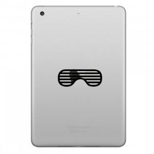 ENKAY Chapeau-Prince Eyeshade Motif Amovible Peau Décorative Autocollant pour iPad mini / 2/3/4 SE300A1776-20