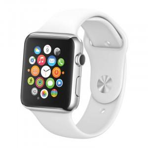 De haute qualité écran couleur non-travail faux mannequin, modèle d'affichage en plastique pour Apple Watch 42mm (blanc) SD215W1824-20