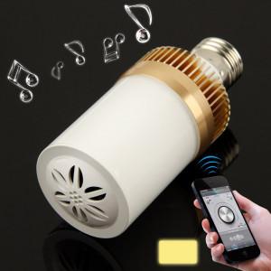 E27 4.5W blanc chaud 24 LED Bluetooth haut-parleur lumière / lampes à économie d'énergie SH692W965-20