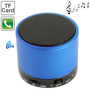 S10 Mini haut-parleur Bluetooth, batterie rechargeable intégrée, prise en charge de l'appel mains libres (bleu) SH61BE404-20