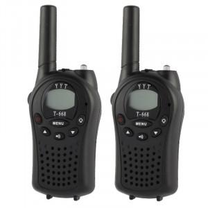 2 PCS T-668 400-470MHz 1.0 pouces LCD 8/20 / 22CHS ensemble talkie-walkie S208031252-20