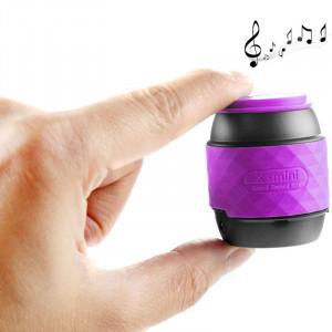 Haut-parleur stéréo portable Bluetooth mains libres et NFC portable (violet) SH202P20-20