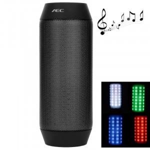 Haut-parleur portable Bluetooth AEC BQ-615 Pulse avec émission de lumière LED intégrée et micro, pour iPhone, Galaxy, Sony, Lenovo, HTC, Huawei, Google, LG, Xiaomi, autres smartphones et tous les périphériques Bluetooth SH203B1613-20