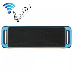 Haut-parleur de musique Bluetooth sans fil portable, prise en charge des téléphones mains libres et radio FM et carte TF, pour iPhone, Galaxy, Sony, Lenovo, HTC, Huawei, Google, LG, Xiaomi, autres smartphones (bleu) SH000L959-20