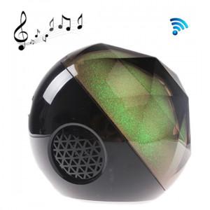 Mini haut-parleur Bluetooth avec boule de cristal de couleur de la lumière magique de cristal avec télécommande, carte TF de soutien, pour iPhone, galaxie, Sony, Lenovo, HTC, Huawei, Google, LG, Xiaomi, autres SH245B309-20