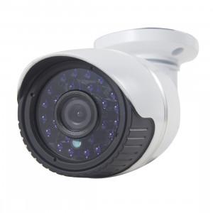 Caméra IP étanche / anti-vandalisme filaire H.264 filaire, lentille fixe 1/3 pouce 4mm 1,3 mégapixels, masque de détection de mouvement / confidentialité et vision nocturne IR 30m, prise en charge HD 720P (1280 x 720) SH0246318-20