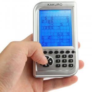Machine carrée grand écran de jeu électronique Kakuro 5 x 5 SH01251610-20