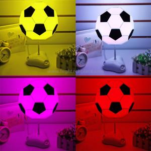 Bricolage USB Lampadaire de football Lampe de nuit à la main / Lampe de bureau Lampe de chevet colorée (Blanc) SB07208-20