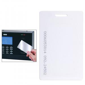 Carte d'identification EM TK4100 / EM4100 125KHZ carte épaisse carte de système de contrôle d'accès pour la gestion du temps de contrôle d'accès (blanc) SE201524-20
