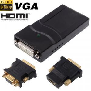 Adaptateur d'affichage USB 2.0 vers DVI / VGA / HDMI, support Full HD 1080P, extensible jusqu'à 6 unités d'affichage SU0195475-20