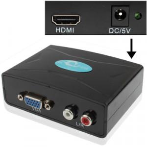 Convertisseur VGA vers HDMI avec audio (FY1316) (Noir) SV0403311-20
