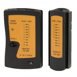 Testeur de câble réseau RJ45 et RJ11 SR0722277-20