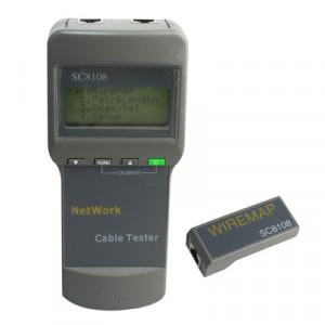 Testeur de câble réseau SC8108 (Gris) SN0725832-20