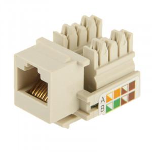 Adaptateur de connecteur de module RJ45 Cat5E Jack de réseau (bonne qualité) SN751A1256-20