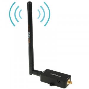 Sunhans SH24BTA-N 35dBm 2.4GHz 3W 11N / G / B WiFi Signal Amplificateur WiFi Amplificateur Sans Fil Répéteur (Noir) SS0775584-20