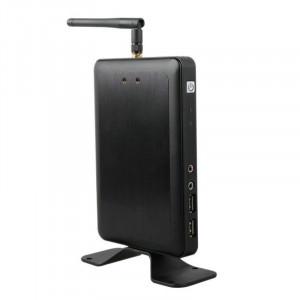 Client léger X1W avec antenne WiFi, Allwinner A20 Dual-core 1,2 GHz, RAM: 512 Mo, Core Inner Linux3.0, Prise en charge de Windows XP et Windows 7 & 8 / Linux (Noir) SX864B1673-20