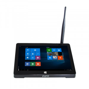 Pipo X9 TV Box Écran tactile 8,9 pouces pour tablette Windows 10 et Android 4.4, Intel Atom Z3735F, Quad Core 1.33GHz à 1.83GHz, RAM: 2 Go, ROM: 32 Go, Support WiFi / Bluetooth / Ethernet / HDMI SP08661304-20
