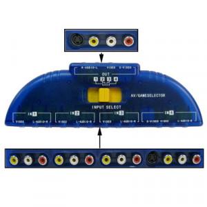 Commutateur de signal AV audio multi-source 4-à-1 S409751463-20