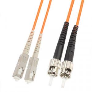 Cavalier de fibre optique multi-mode à double noyau SC-ST, longueur: 3 m SH14081688-20