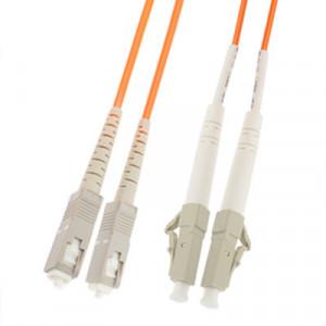 Cavalier de fibre optique multimode à double noyau SC-LC, longueur: 3 m SH1410166-20