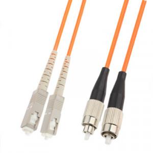 Cavalier de fibre optique multi-mode à double noyau SC-FC, longueur: 3 m SH1412681-20