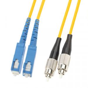 Cavalier de fibre optique monomode SC-FC Dual-Core, longueur: 3 m SH1413482-20