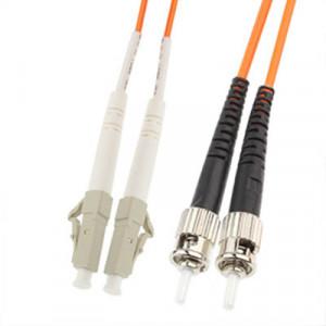 Cavalier à fibre optique multi-mode à double noyau LC-ST, longueur: 3 m SH14141254-20
