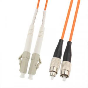 Jumper fibre optique multi-mode LC-FC à double noyau, longueur: 3 m SH14151848-20