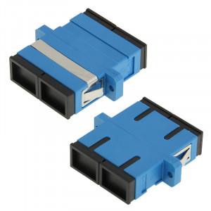 Bride / Connecteur / Adaptateur / Périphérique racine de Lotus de fibre multimode duplex de SC-SC (bleu) SH14231680-20