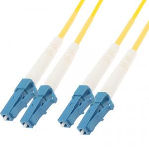Cavalier à fibre optique monomode LC-LC Dual-Core, longueur: 3 m SH14421805-20