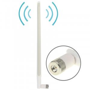 Antenne réseau mâle haute qualité 10dBi WiFi RP-SMA (blanc) SH1812680-20