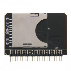 SD / SDHC / MMC à 2,5 pouces 44 broches mâle IDE carte d'adaptateur SS2382162-20
