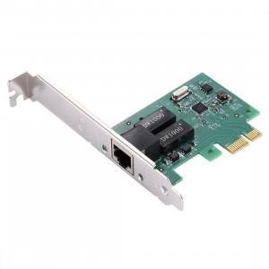 Carte LAN Gigabit Ethernet PCI-E 10/100 / 1000Mhps SC40041415-20