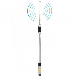 RH770 Dual Band 144 / 430MHz Antenne téléscopique télescopique à gain élevé SMA-F pour talkie-walkie, longueur de l'antenne: 93cm SR52011056-20