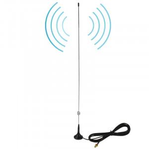 NAGOYA UT-108UV SMA Femelle Double Bande Magnétique Antenne Mobile pour Talkie Walkie, Antenne Longueur: 50cm SN5204401-20
