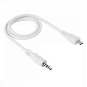 Câble AUX Audio mâle mâle vers Micro USB 3,5 mm, Longueur: environ 50 cm S37307591-20