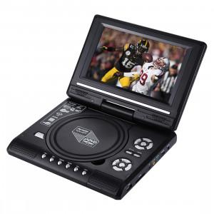 7,5 pouces écran TFT LCD Portable DVD avec lecteur TV, support SD / MMC Card / Fonction de jeu / Port USB (noir) SH1029481-20