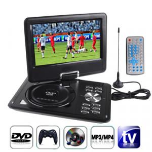 9,5 pouces écran TFT LCD multimédia numérique DVD portable avec lecteur de carte et port USB, TV de soutien (PAL / NTSC / SECAM) et fonction de jeu, rotation de 180 degrés, carte SD / MS / MMC de soutien SH1056498-20