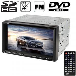 6.95 pouces haute définition numérique écran TFT écran tactile voiture lecteur MP4 / DVD avec télécommande, support GPS / Bluetooth / système TV / USB / carte SD / Aux In (ZY-6911) SH2002837-20
